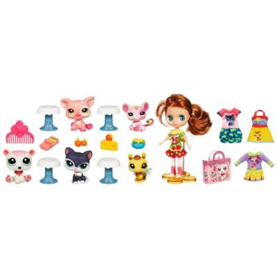LITTLEST PET SHOP BLYTHE LOVES LITTLEST PET SHOP FASHIONS & TREATS BOUTIQUE