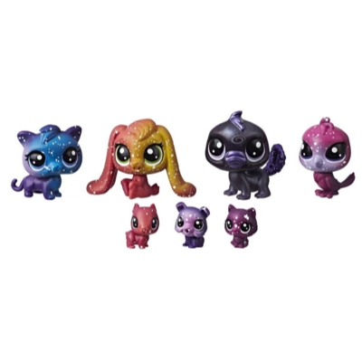 Littlest Pet Shop Cosmic Pounce Friends (Black Hole Theme)
