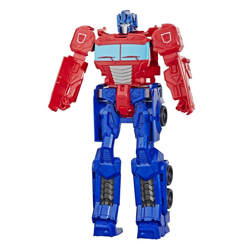 Transformers Toys Titan Changers Optimus Prime Action Figure