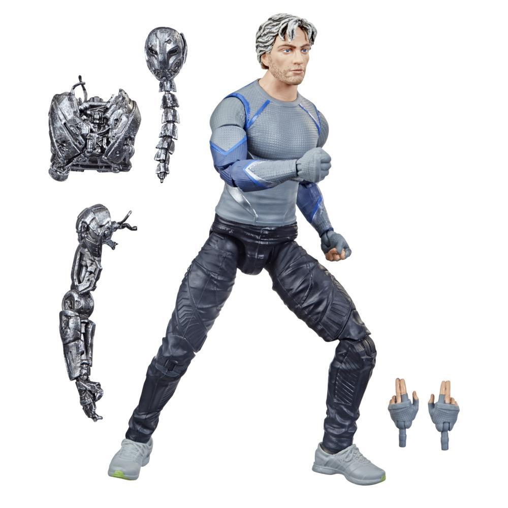 Hasbro Marvel Legends Series 6-inch Scale Action Figure Toy Quicksilver, Includes Premium Design and 5 Accessories