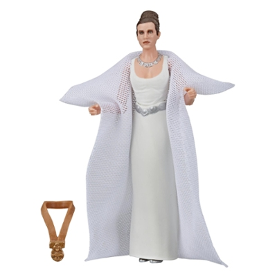 Star Wars The Vintage Collection Star Wars: A New Hope Princess Leia Organa (Yavin) Toy, 3.75-inch Scale Action Figure