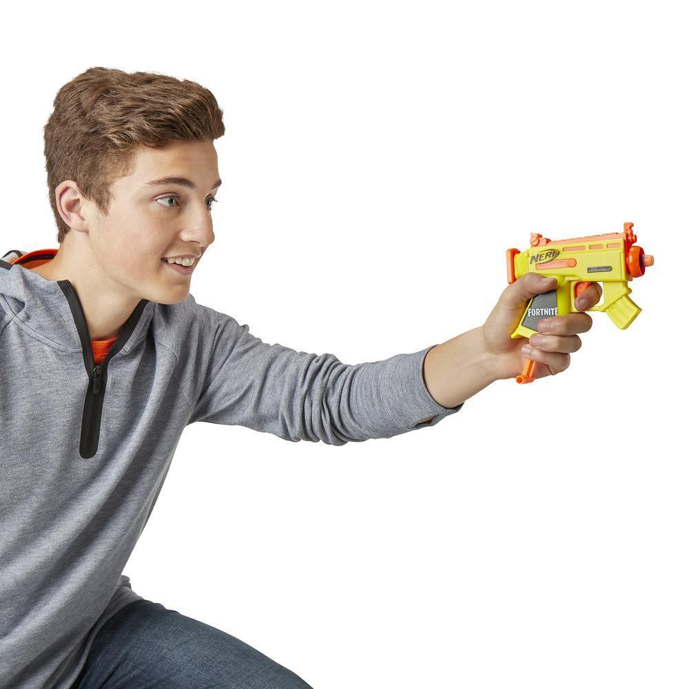 Fortnite Micro AR-L Nerf MicroShots Dart-Firing Toy Blaster