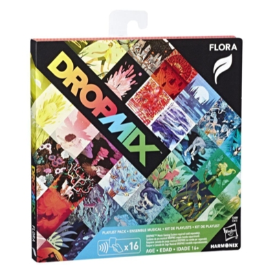 DropMix Playlist Pack (Flora) Expansion for Music Mixing Board and Card Game