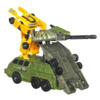 TRANSFORMERS DARK OF THE MOON CYBERVERSE Action Set BUMBLEBEE MOBILE BATTLE BUNKER