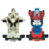 TRANSFORMERS DARK OF THE MOON ROBO POWER BASH BOTS STARSCREAM vs. OPTIMUS PRIME