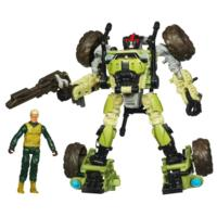 TRANSFORMERS DARK OF THE MOON MECHTECH HUMAN ALLIANCE Private Dedcliff and SANDSTORM