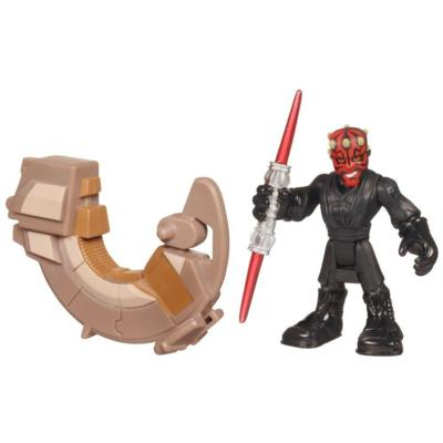 STAR WARS Jedi Force PLAYSKOOL HEROES 2-Pack (DARTH MAUL & SITH SPEEDER)