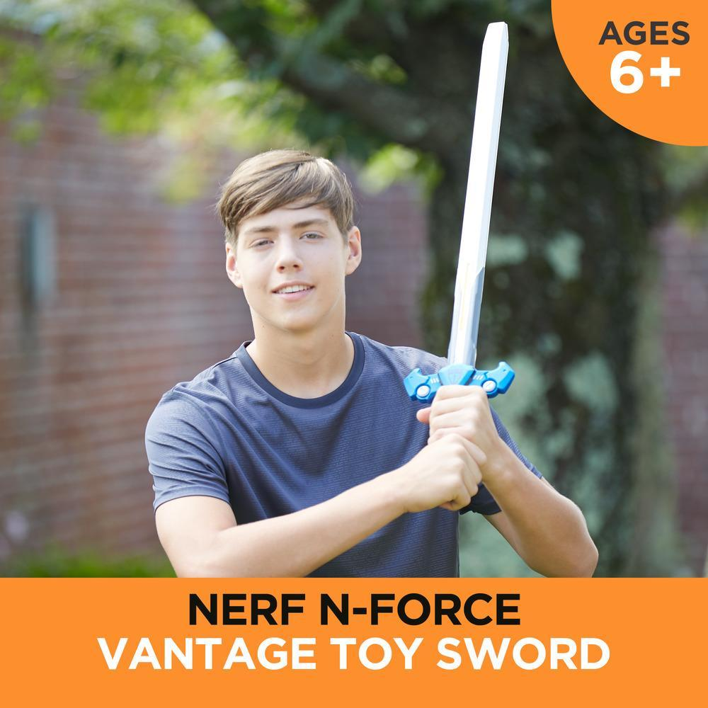 Vantage Nerf N-Force Toy Sword - 32 Inches Long - Nerf Foam Blade with Plastic Core - For Kids, Teens, Adults