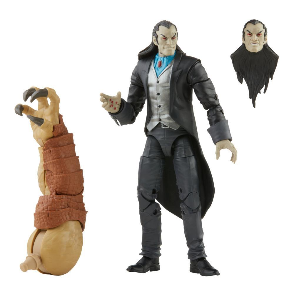 Marvel Legends Series Morlun 6-inch Collectible Action Figure Toy, 4 Accessories and 2 Build-A-Figure Part(s)