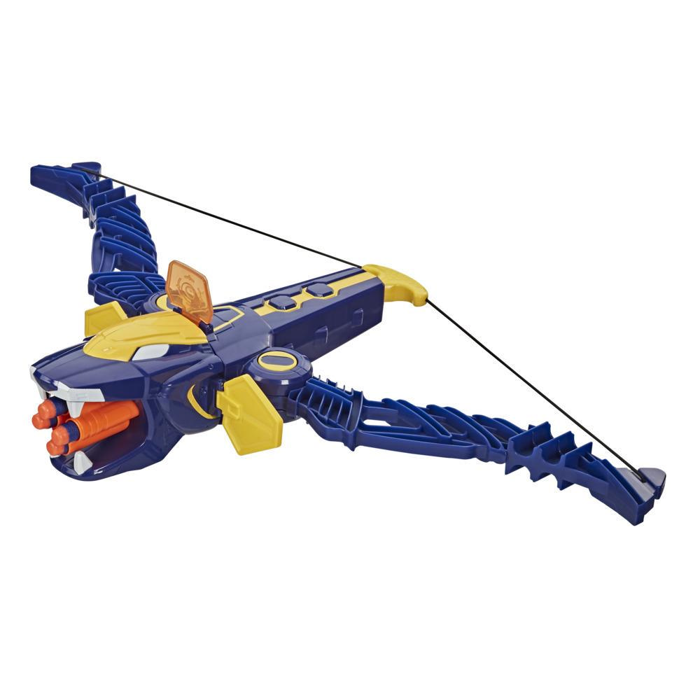 Power Rangers Beast Morphers Beast-X King Mega Bow Toy, Nerf Dart Firing Action, Inspired by Power Rangers TV Series