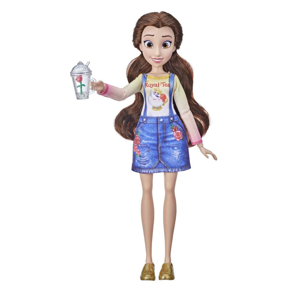 Disney Princess Comfy Squad Belle Fashion Doll, Toy Inspired by Ralph Breaks the Internet Movie, Casual Outfit Doll