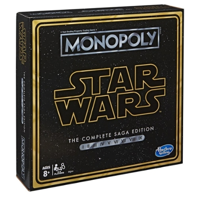 Monopoly: Star Wars The Complete Saga Edition Board Game for Kids