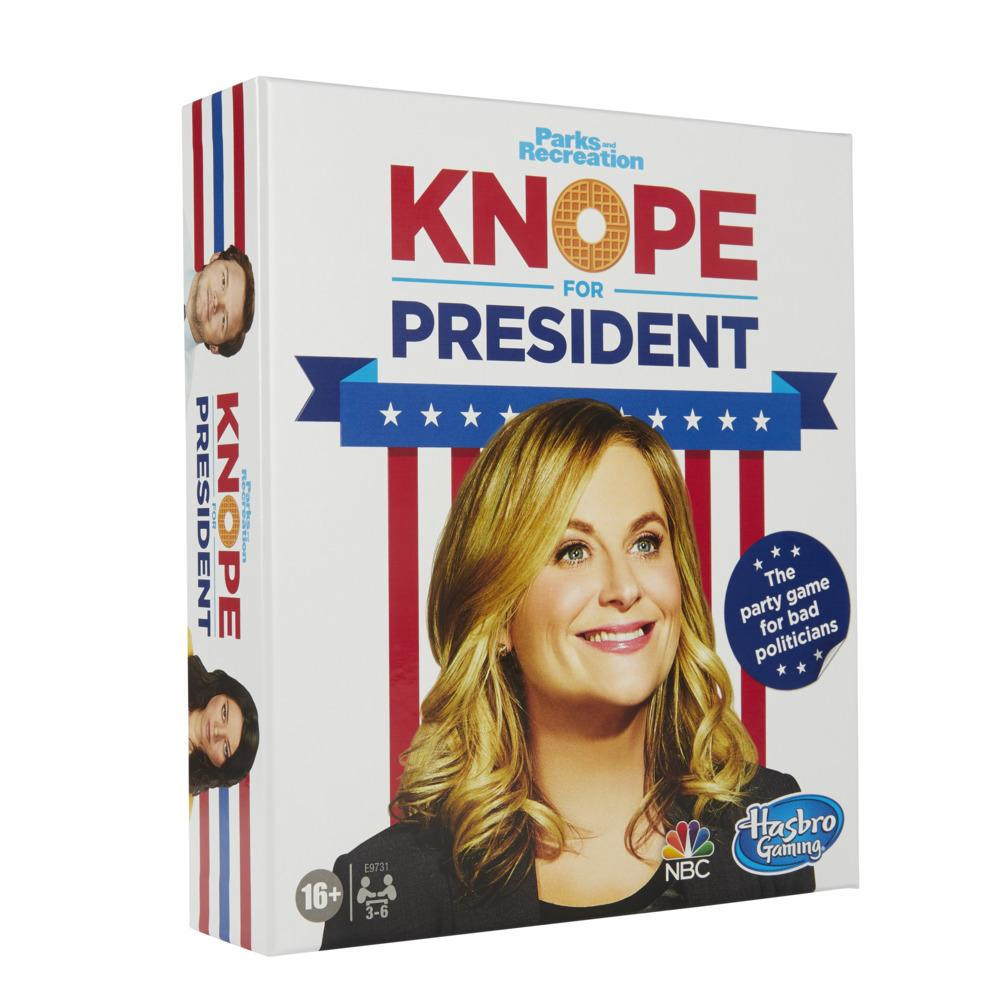 Knope For President Party Card Game for Ages 14 and Up