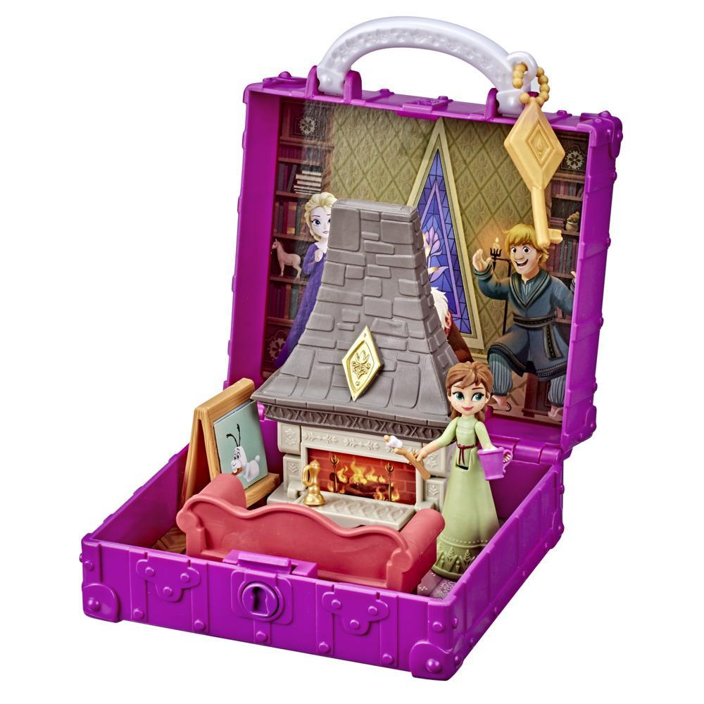 Disney's Frozen 2 Pop Adventures Family Game Night Pop-Up Playset With Handle, Including Anna Doll, Toy Inspired by Frozen 2