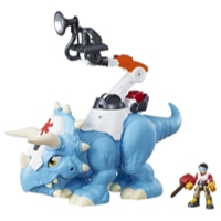 Playskool Heroes Chomp Squad Doc Tops and Sam Scrubs