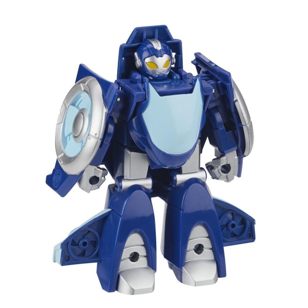 Transformers Rescue Bots Academy Whirl the Flight-Bot Converting Toy, 4.5-Inch Figure, Toys for Kids Ages 3 and Up