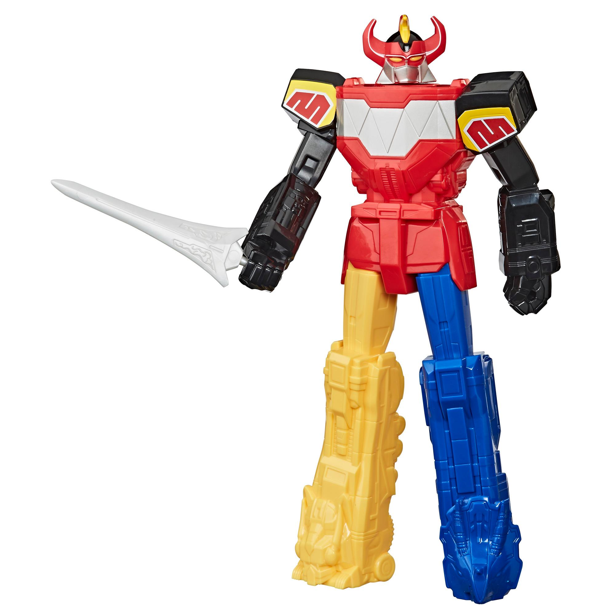 Power Rangers Mighty Morphin Megazord 10-inch Action Figure Toy With Sword Accessory Inspired by Power Rangers TV Show
