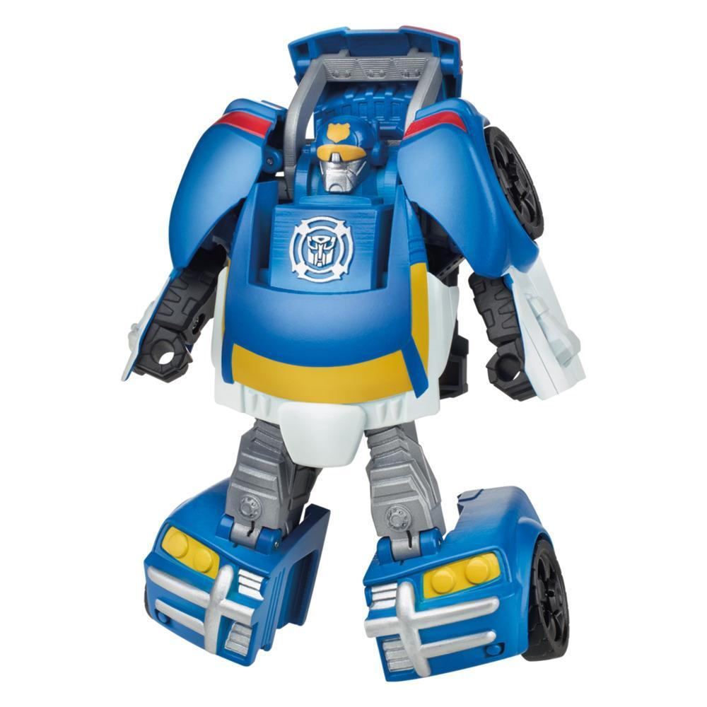 Transformers Rescue Bots Academy Classic Heroes Team Chase the Police-Bot Converting Toy, 4.5-Inch Figure, Kids Ages 3 and Up