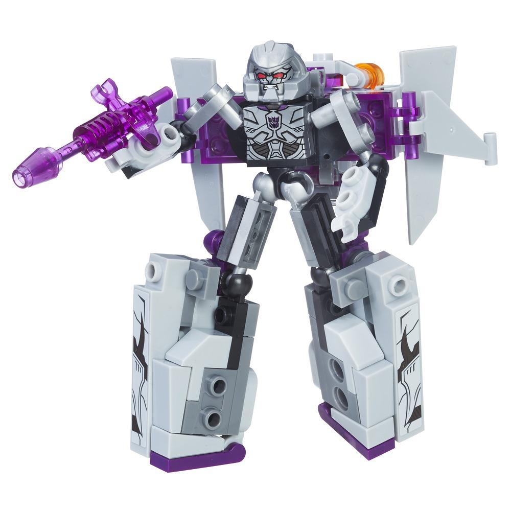 Transformers Toys KRE-O Kreon Battle Changers Megatron Buildable Figure with 2 Modes - Adults and Kids, Ages 6 and Up