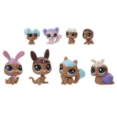 Littlest Pet Shop Frosting Frenzy Friends (Chocolate)