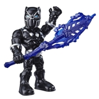 Playskool Heroes Marvel Super Hero Adventures Collectible 5-Inch Black Panther Action Figure Toy with Spear Accessory
