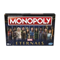 Monopoly: Marvel Studios' Eternals Edition Board Game for Marvel Fans, Kids Ages 8 and Up