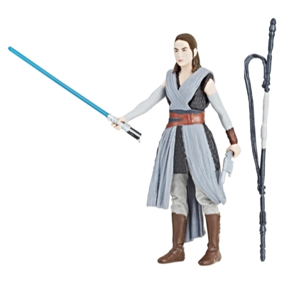Star Wars Force Link 2.0 Rey (Jedi Training) Figure