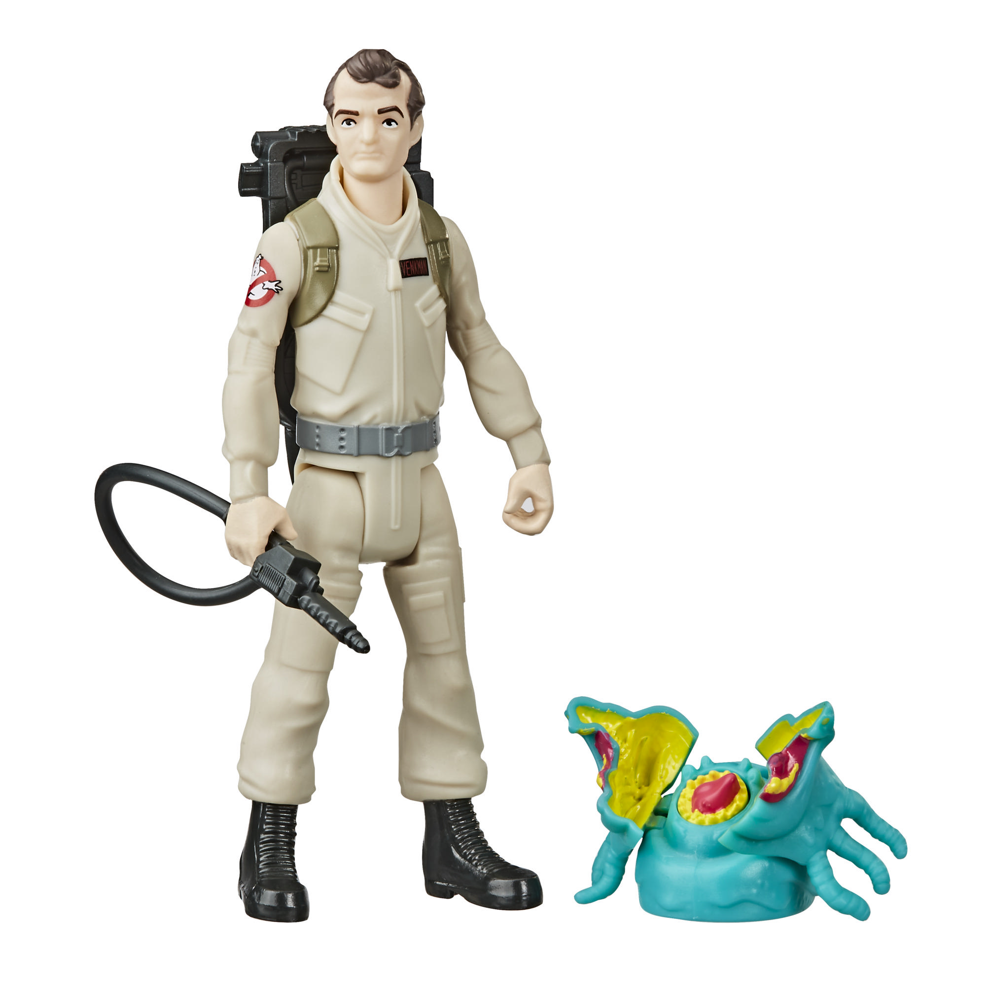 Ghostbusters Fright Features Peter Venkman Figure with Interactive Ghost Figure and Accessory for Kids Ages 4 and Up