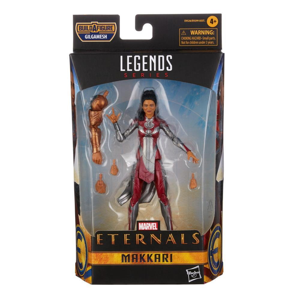 Hasbro Marvel Legends Series The Eternals 6-Inch Makkari Action Figure Toy, Includes 2 Accessories, Ages 4 and Up