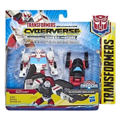 Transformers Toys Cyberverse Spark Armor Autobot Ratchet Action Figure