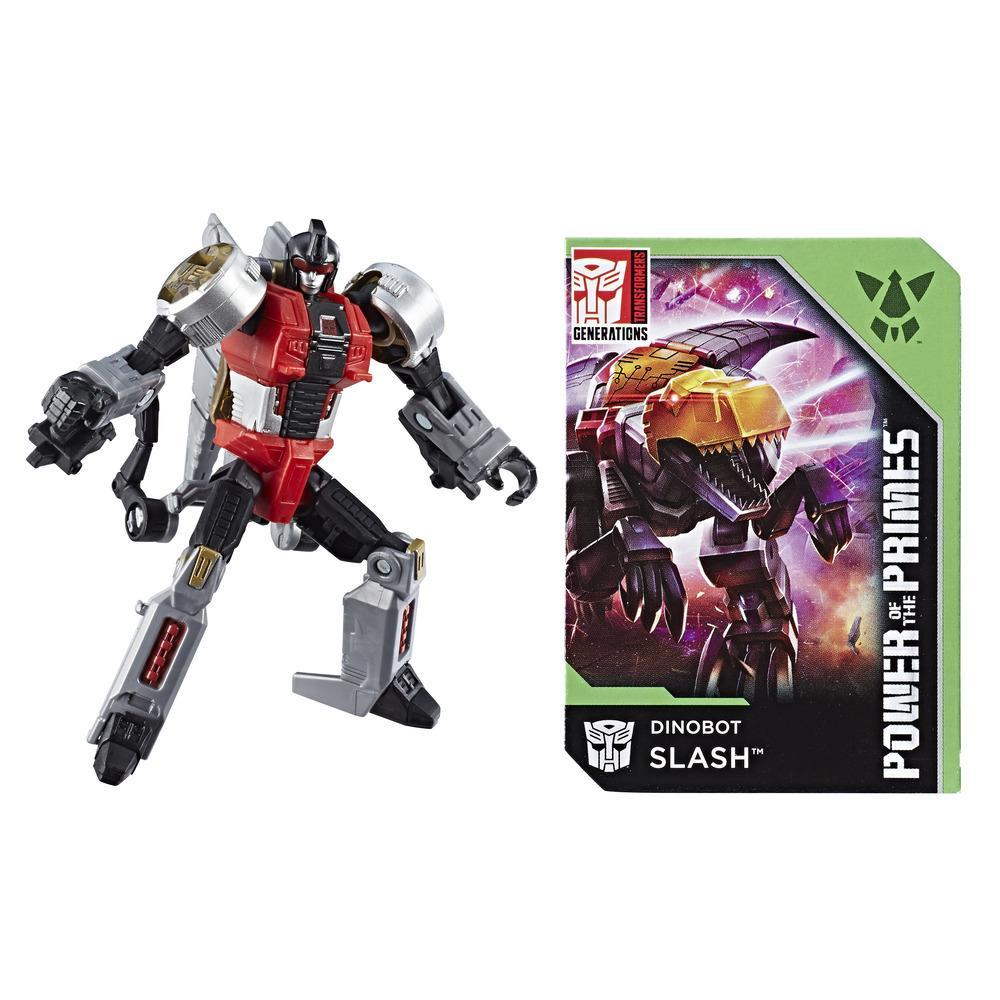 Transformers: Generations Power of the Primes Legends Class Dinobot Slash