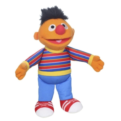 Playskool Friends Sesame Street Ernie Mini Plush