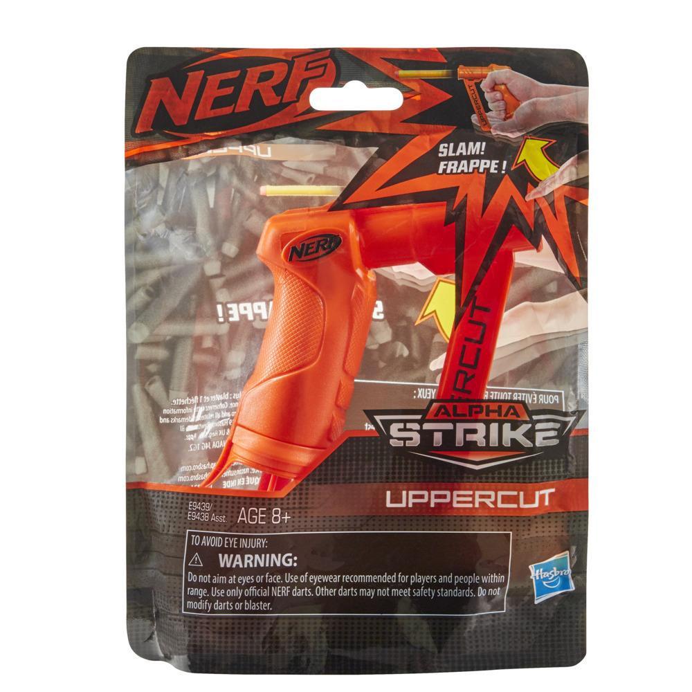 Nerf Alpha Strike Uppercut Blaster -- Includes 1 Official Nerf Elite Dart -- For Kids, Teens, Adults -- Orange