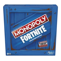 Monopoly: Fortnite Collector's Edition Board Game Inspired by Fortnite Video Game, Board Game for Teens and Adults