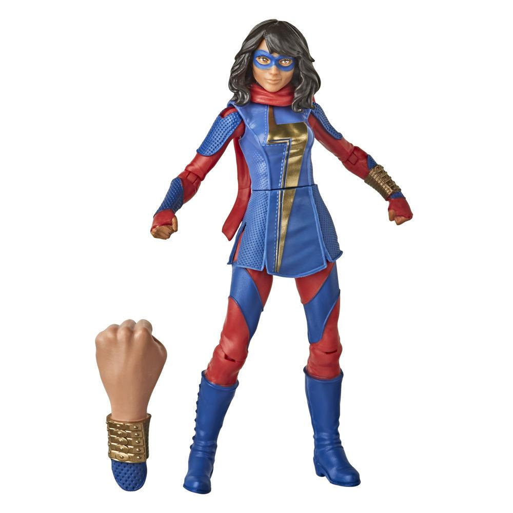 Hasbro Marvel Gamerverse 6-inch Ms. Marvel Action Figure Toy, Advanced Armor Skin, Ages 4 And Up