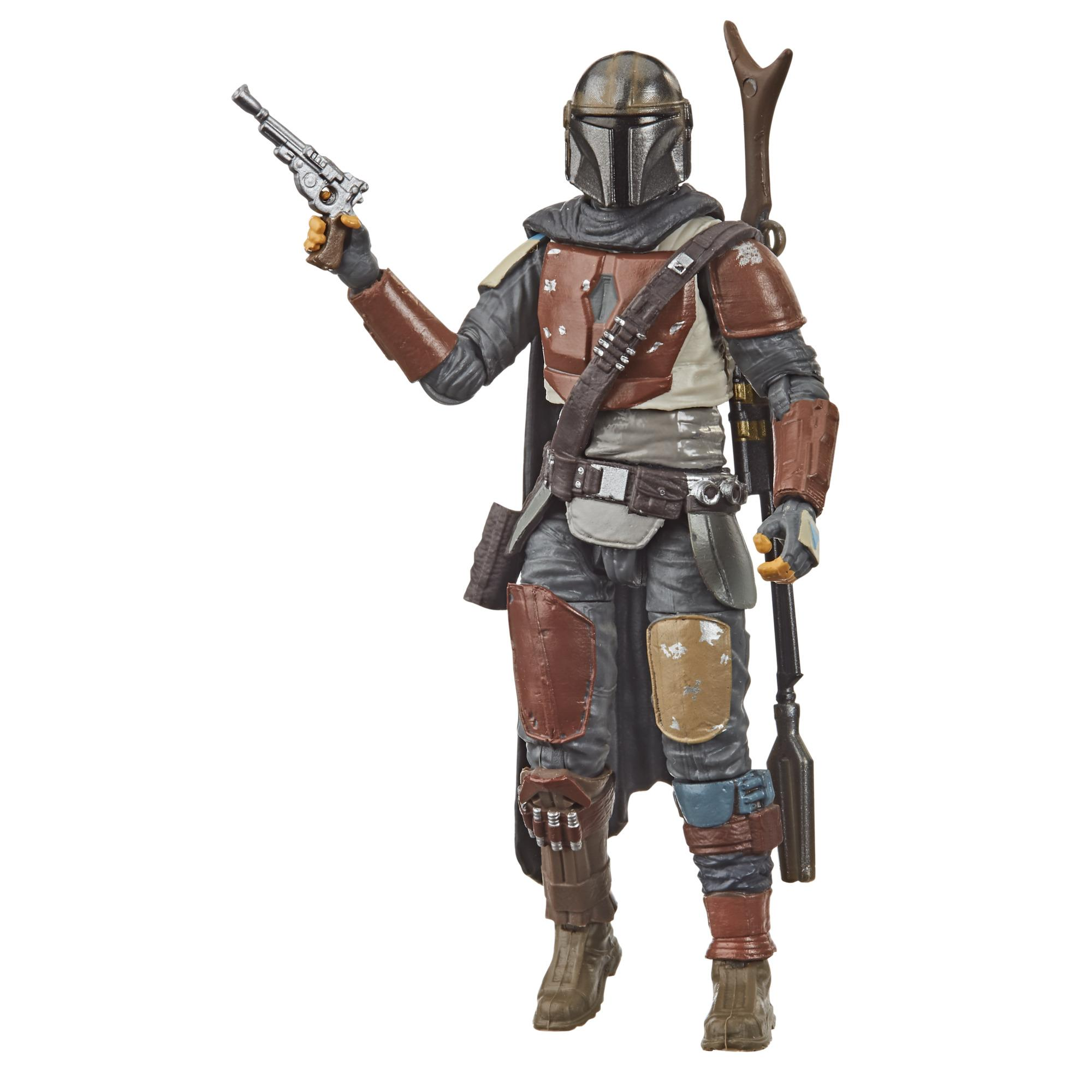 Star Wars The Vintage Collection The Mandalorian Toy, 3.75-inch Scale Action Figure, Toys for Kids Ages 4 and Up