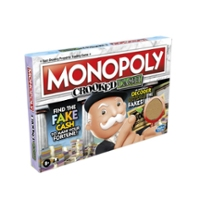 Monopoly Crooked Cash Board Game For Families and Kids Ages 8 and Up, Includes Mr. Monopoly's Decoder