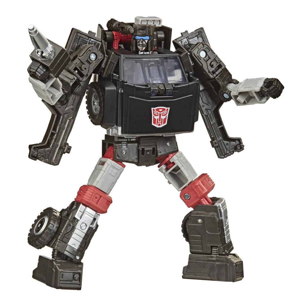 Transformers Toys Generations War for Cybertron: Earthrise Deluxe WFC-E34 Trailbreaker, 5.5-inch