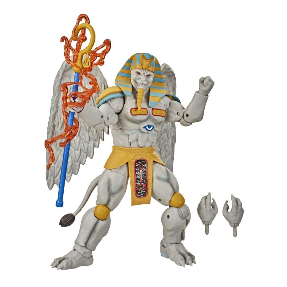Power Rangers Lightning Collection Monsters Mighty Morphin King Sphinx 6-Inch Premium Collectible Action Figure Toy