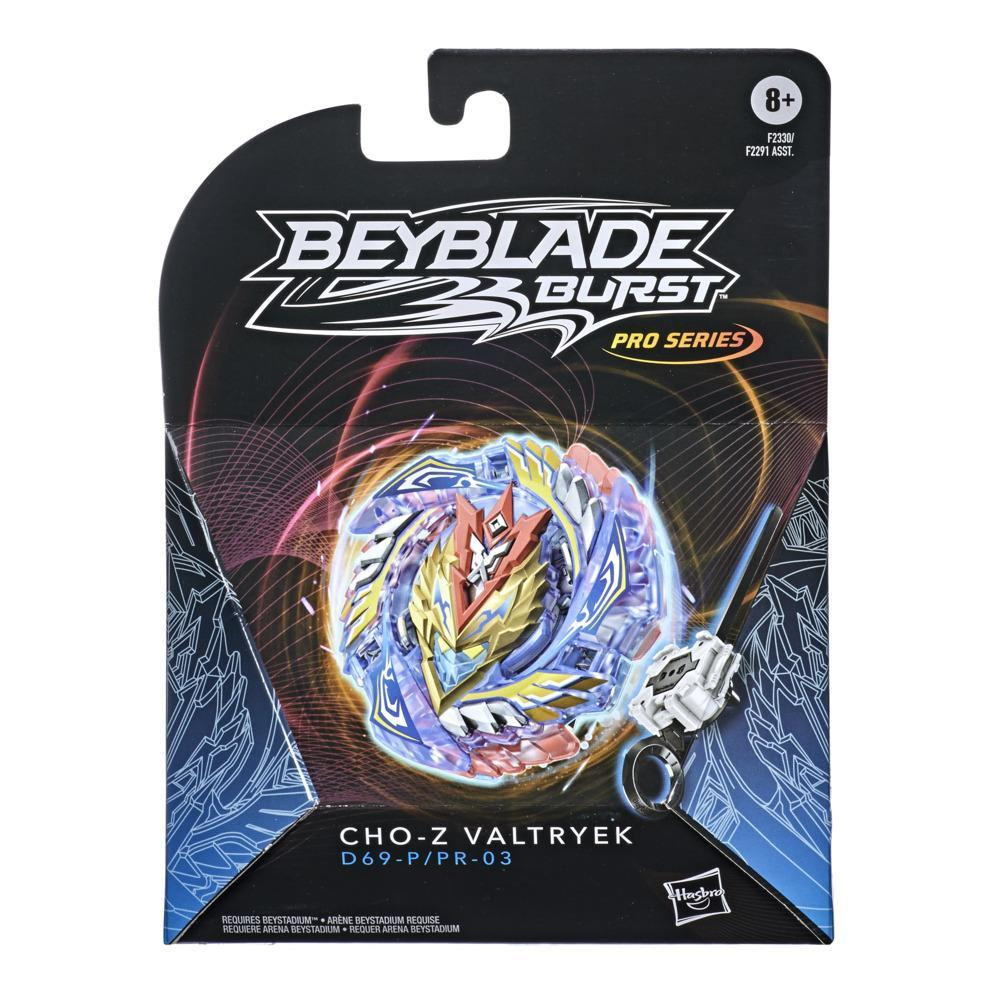 Beyblade Burst Pro Series Cho-Z Valtryek Spinning Top Starter Pack -- Battling Game Top with Launcher Toy