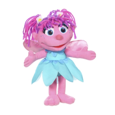 Playskool Friends Sesame Street Abby Cadabby Mini Plush