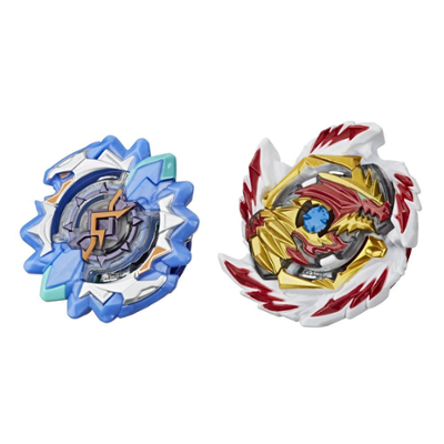 Beyblade Burst Rise Hypersphere Dual Pack Erase Devolos D5 and Left Astro A5 -- 2 Battling Top Toys, Ages 8 and Up