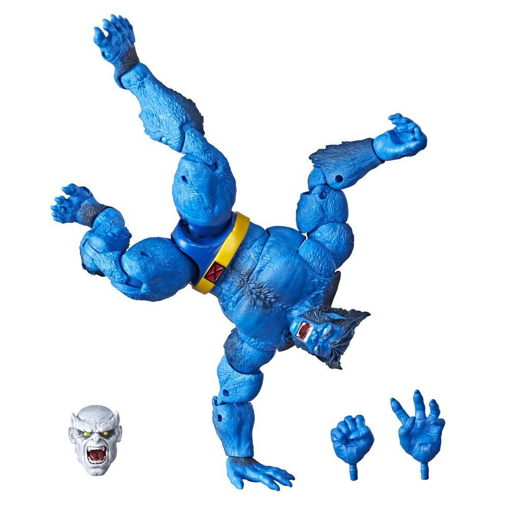 Hasbro Marvel Legends Series 6-inch Collectible Action Figure Marvel's Beast Toy (X-Men Collection)