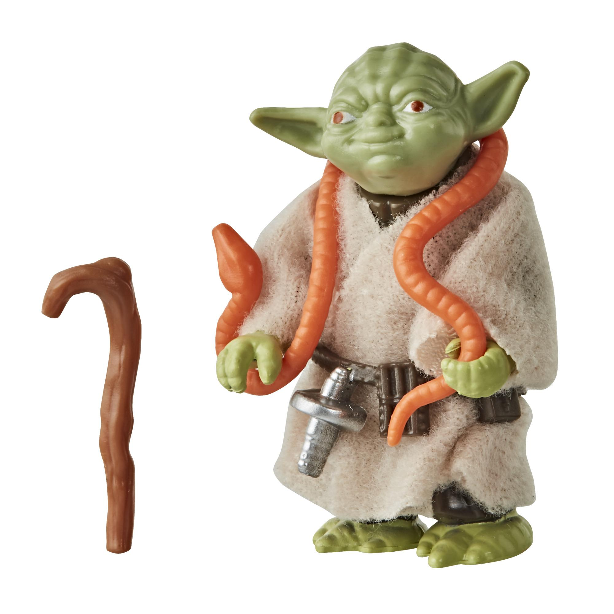 Star Wars Retro Collection Yoda 3.75-inch Scale Star Wars: The Empire Strikes Back Action Figure, Kids Ages 4 and Up