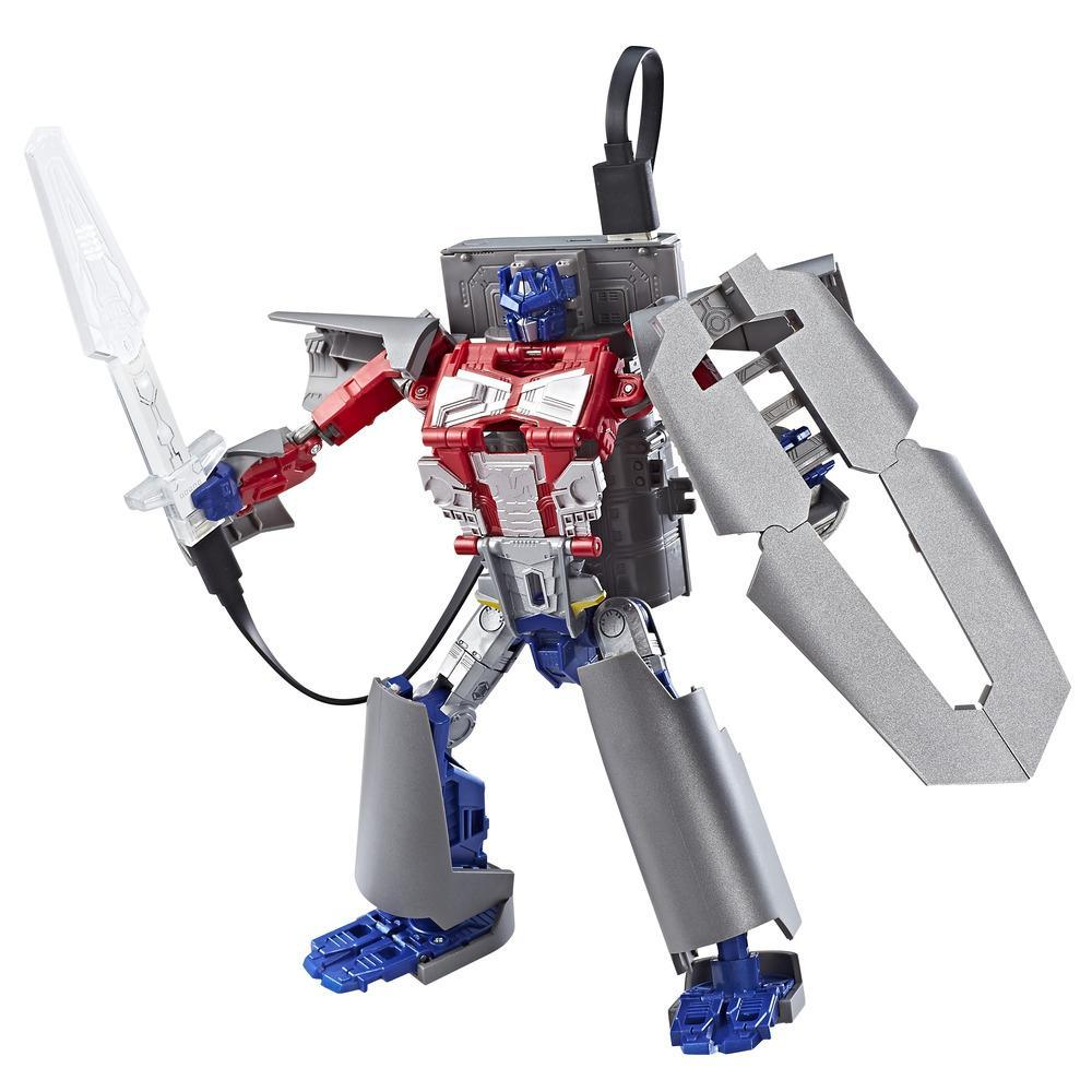 Transformers Converting Power Bank Optimus Prime (HASCON EXCLUSIVE)