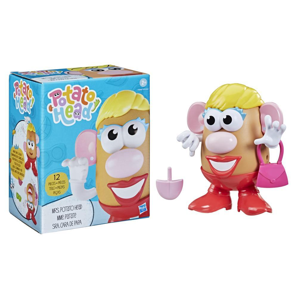 Potato Head Mrs. Potato Head Classic Toy For Kids Ages 2 and Up, Includes 12 Parts and Pieces to Create Funny Faces