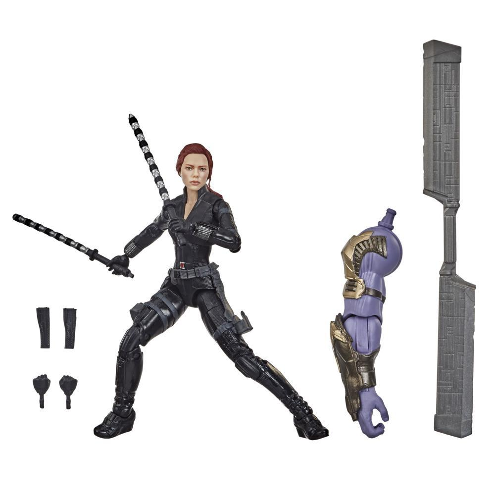 Hasbro Marvel Legends Series Avengers 6-inch Collectible Action Figure Toy Black Widow