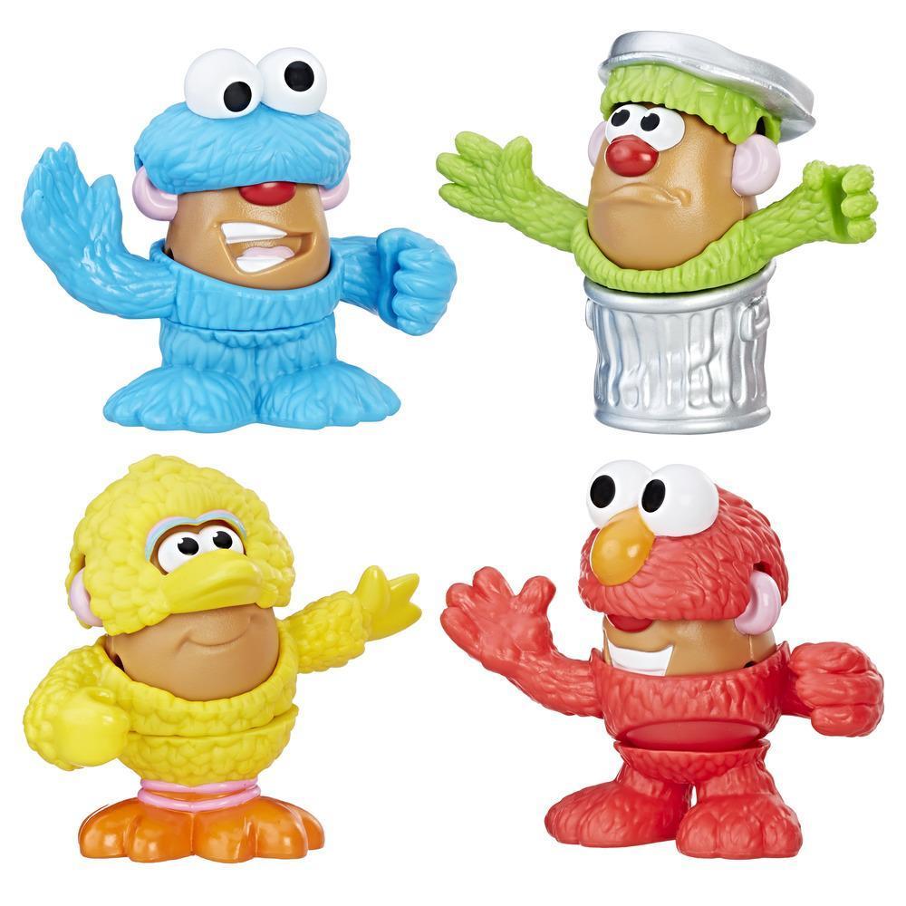 Playskool Friends Mr. Potato Head Sesame Street Spuds Mini Container