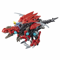 Zoids Mega Battlers Ruin - Deinonychus Raptor -Type Buildable Beast Figure, Motorized Motion - Kids Toys Ages 8 and Up, 45 Pieces