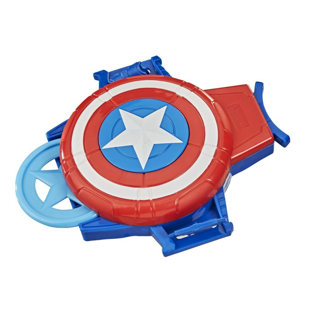 Hasbro Marvel Captain America Shield Gauntlet Disc Blaster Role-Play Toy, For Kids Ages 5 and Up